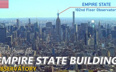 EMPIRE STATE BUILDING │ NEW YORK. Day and night time views from the iconic Empire State 102nd floor.