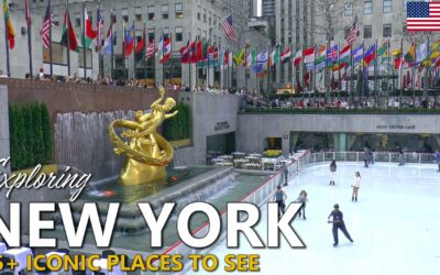 NEW YORK │ USA. Exploring New York: more than 25 iconic places to visit.
