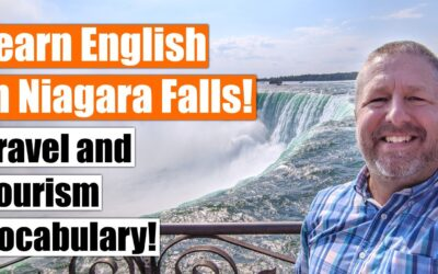 Learn English Travel and Tourism Vocabulary and Phrases in Niagara Falls!