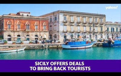 Sicily is offering incentives on travel deals to bring back tourists